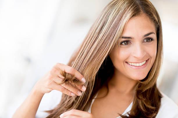 Comment faire un beau lissage au tanin pour ces cheveux ?